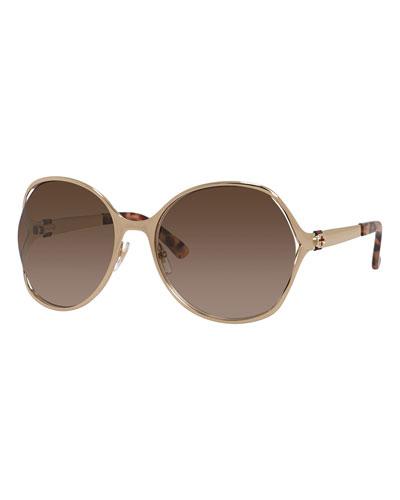 Round Oversize Sunglasses