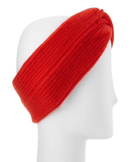 Alexis Twist-Front Cashmere Headband