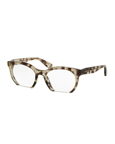 Cutoff Cat-Eye Optical Frames