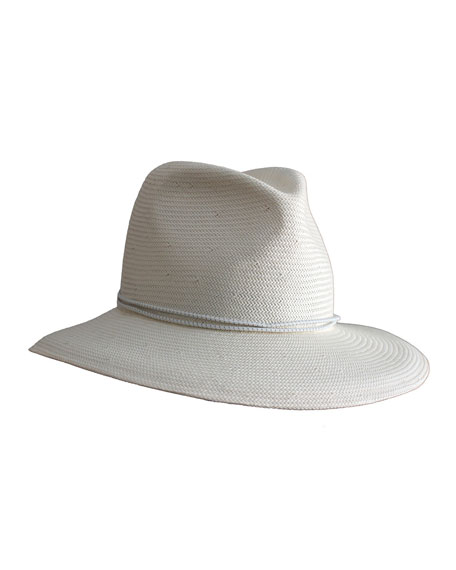 8def57e1958fa Yestadt Millinery Nomad Packable Straw Fedora Hat