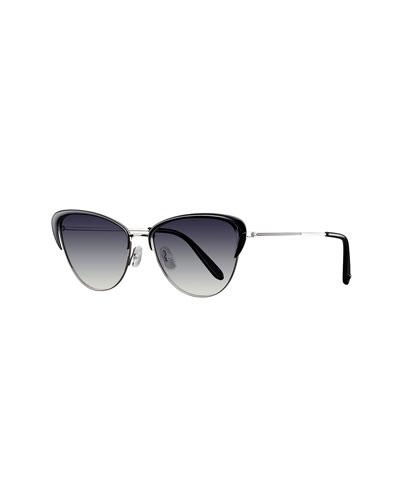 Vista Cat-Eye Gradient Sunglasses