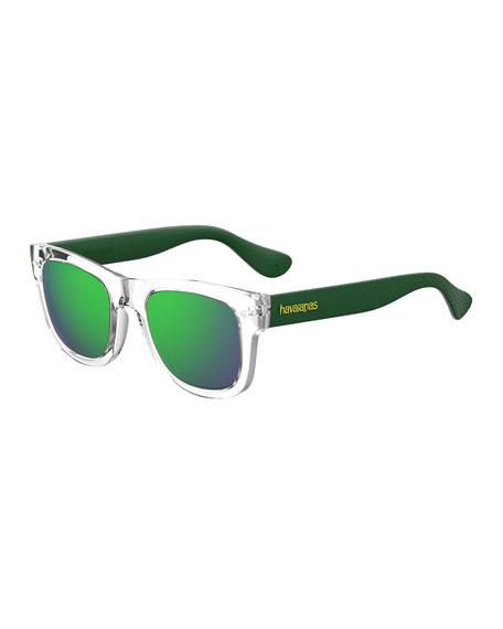 Paratym Two-Tone Rubber Sunglasses