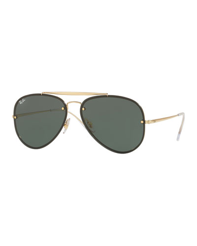 Brow Bar Aviator Sunglasses