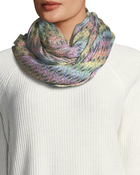 Free-Print Rectangle Scarf