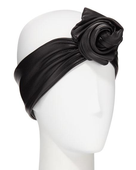 Glemby Leather Head Wrap
