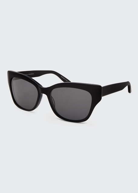 Image 1 of 1: Aloha Asian Fit Cat-Eye Sunglasses
