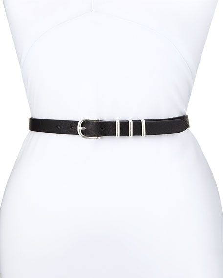 Jet Leather Belt