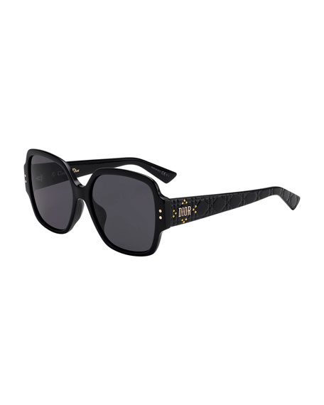 Image 1 of 1: Lady Dior Studs Square Sunglasses