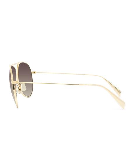 Aviator Gradient Sunglasses