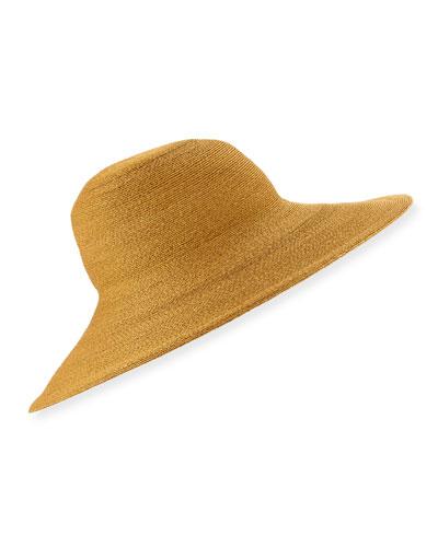 Fine Sewn Braid Sun Hat