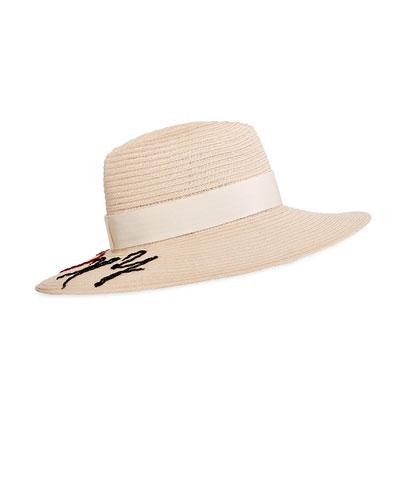 Emmanuelle I Heart NY Sun Hat