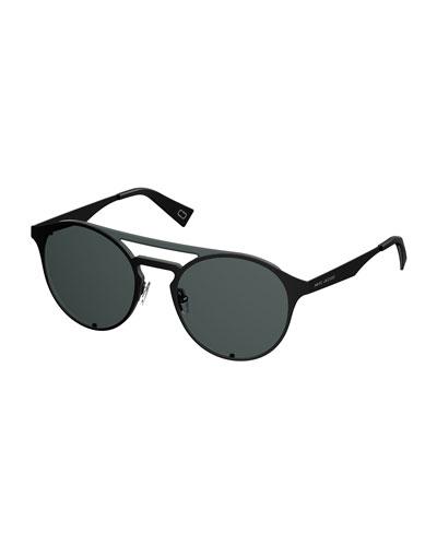 Flat Metal Aviator Sunglasses