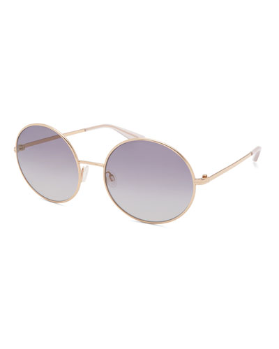 Kiso Round Metal Sunglasses