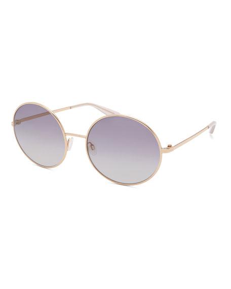 Kiso Round Metal Sunglasses
