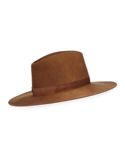 Harper Wool Fedora Hat
