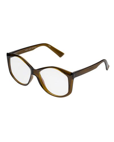 Donkey Goaty Round Reading Glasses