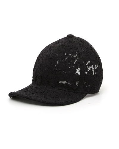 Heavy Lace Baseball Hat