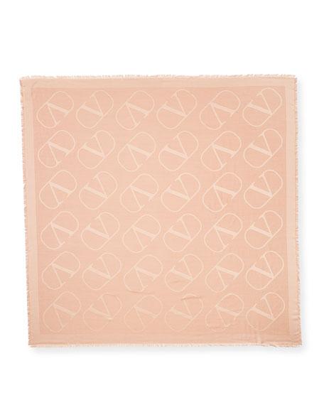 VLOGO Silk-Wool Shawl