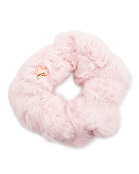 Image 1 of 1: Sheared Rabbit Fur Scrunchie