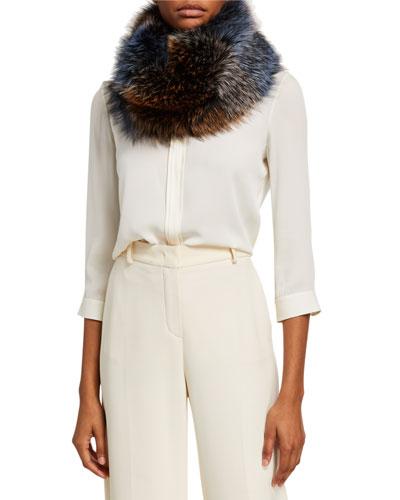 Lightweight Fox Fur Scarf