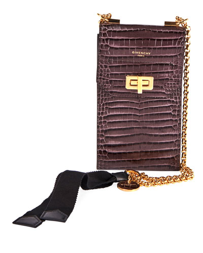 Catena Crossbody Phone Pouch Bag with Chain