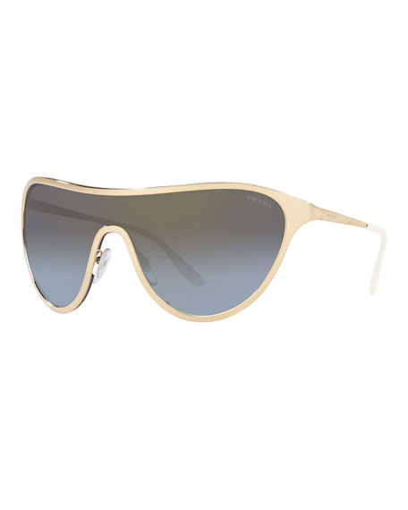 Metal Shield Sunglasses