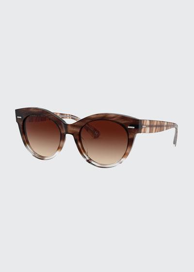 Georgica Acetate Cat-Eye Sunglasses