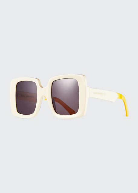 Image 1 of 1: Isadore Square Acetate Sunglasses