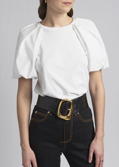 Molten Leather Belt