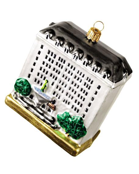 BG Building Christmas Ornament