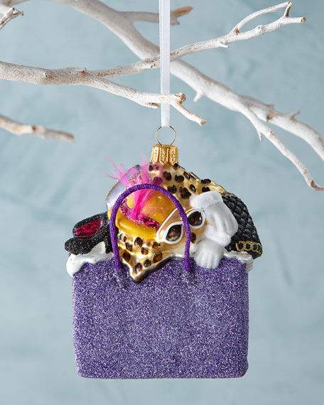 BG Shopping Bag Christmas Ornament
