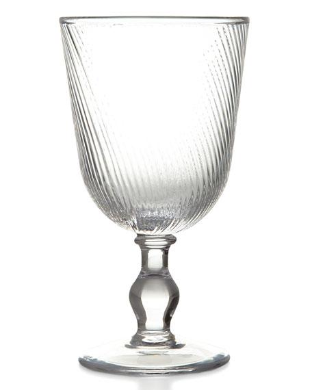 Juliska Arabella Clear Footed Goblet