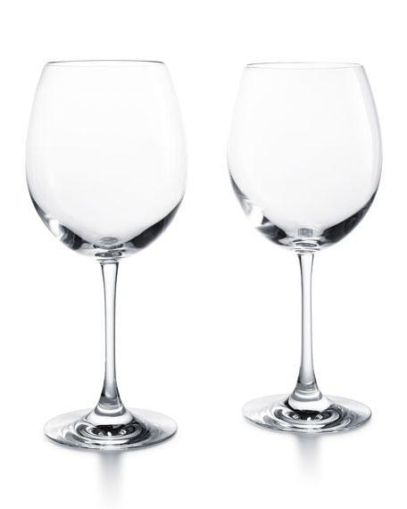 Baccarat Grand Bordeaux Glasses, Set of 2