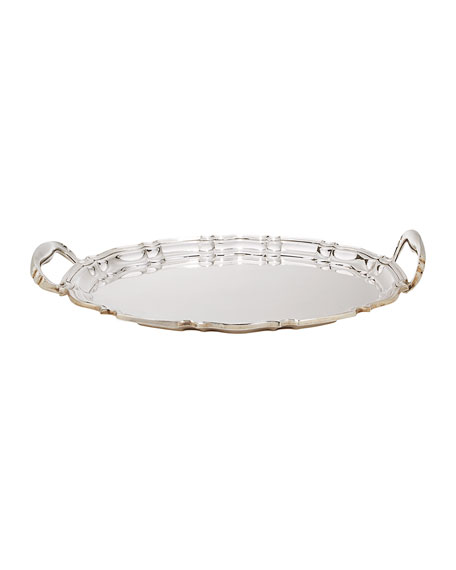 Large Oval Serving Tray