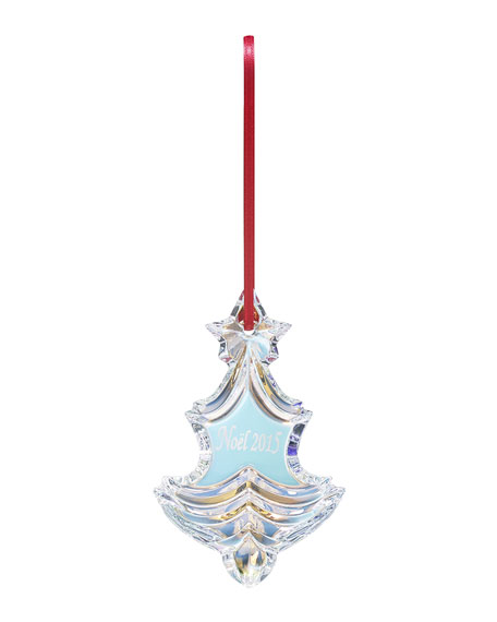 - Baccarat 2015 Iridescent Noel Christmas Ornament