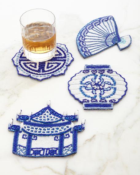 Ming Coasters, 4-Piece Set