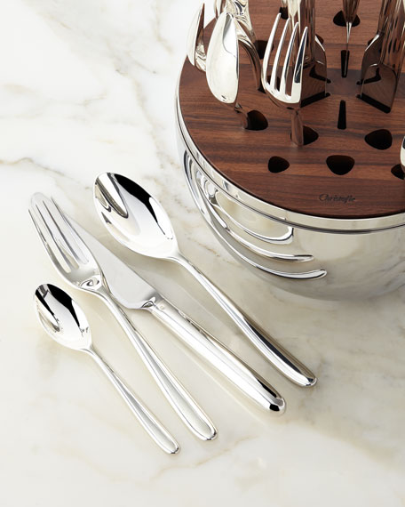 24-Piece Mood Silver-Plated Flatware Service