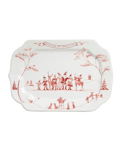 Country Estate Winter Frolic Love & Joy Gift Tray