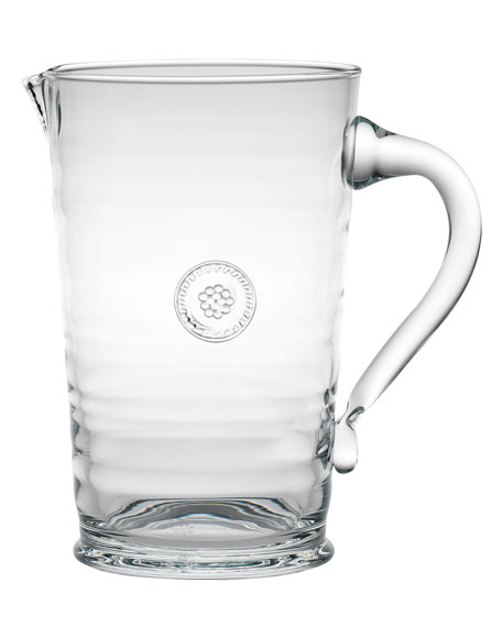 Clear Berry & Glass Thread Pitcher