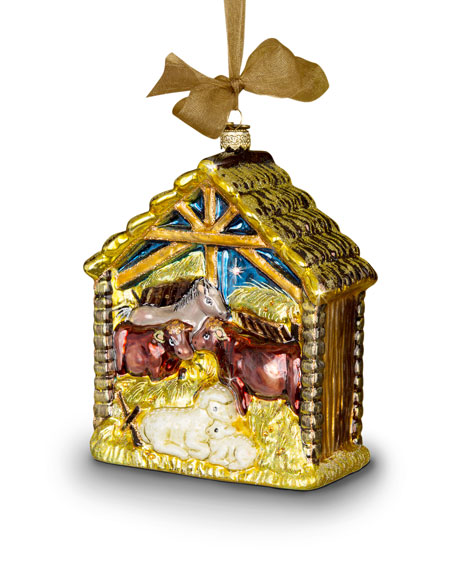 Holy Family Christmas Ornament