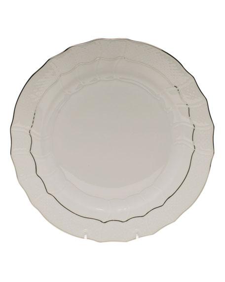 Platinum Edge Dinner Plate