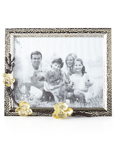 Gold Orchid 8 x 10 Picture Frame