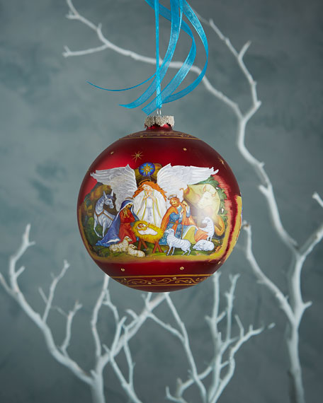 Limited-Edition Nativity Ornament