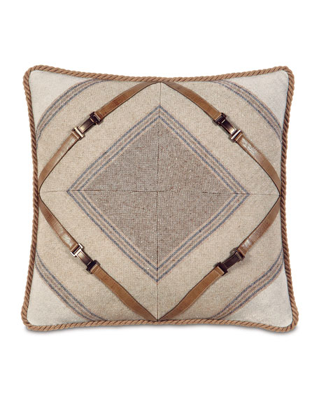 Mitered Ashbrooke Pillow