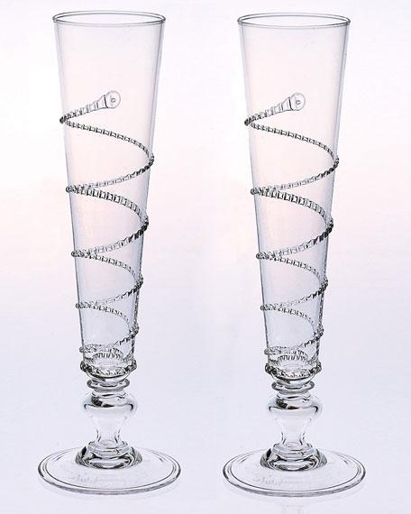 Pair of Amalia Flutes