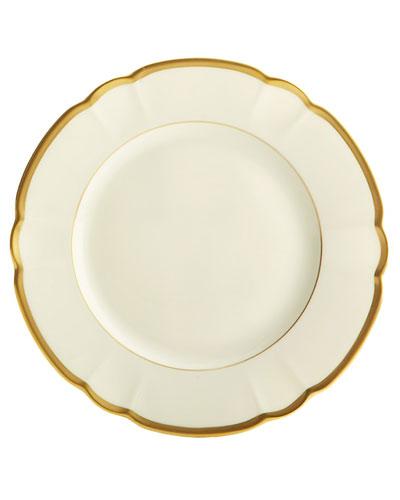 Colette Gold Salad/Dessert Plate