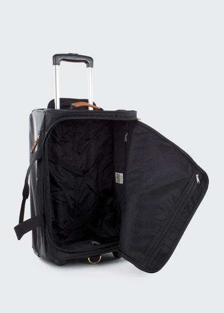 "Black X-Bag 21"" Carry-On Rolling Duffel Luggage"