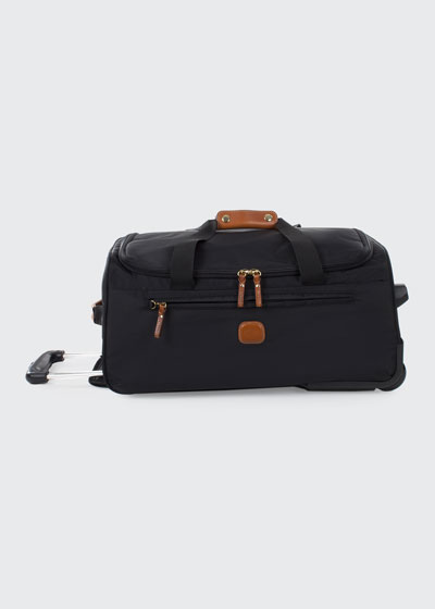Black X-Bag 21 Carry-On Rolling Duffel Luggage
