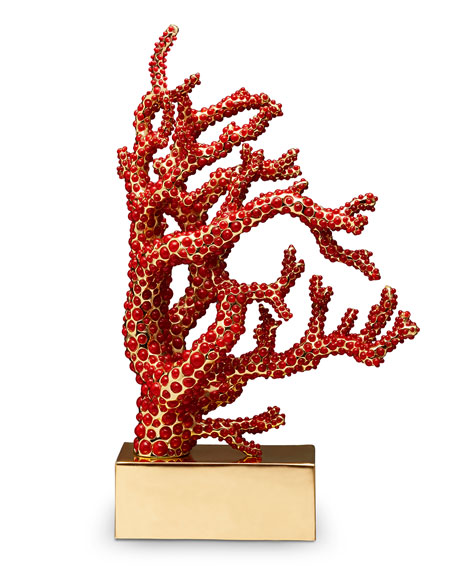 Coral Bookend