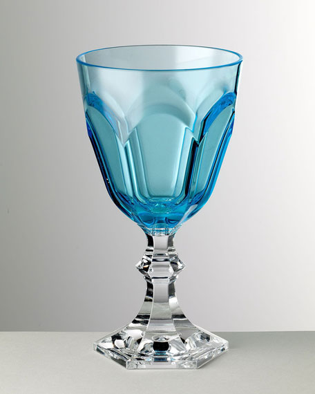 Image 1 of 1: Dolce Vita Turquoise Water Goblet